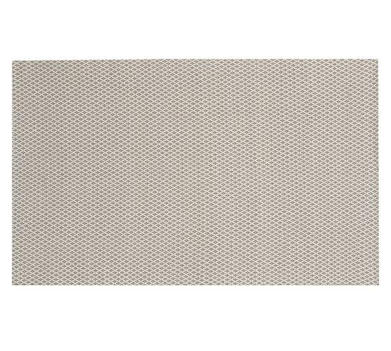 Basic Diamond Recycled Yarn Indoor/Outdoor Rug, 5x8', Gray