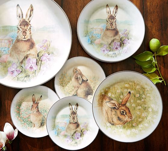 Meadow Bunny Dinnerware Mixed Set of 4 Pottery Barn : meadow bunny dinnerware mixed set of 4 c from www.potterybarn.com size 558 x 501 jpeg 57kB