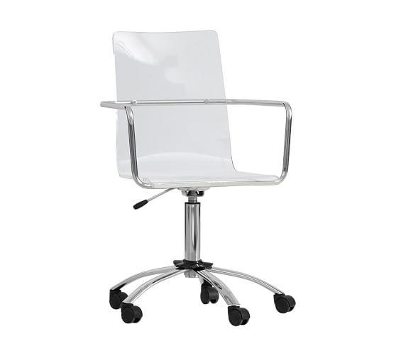 Paige Acrylic Desk Chair