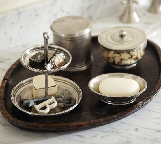 Quinn Beaded Bath Accessories Pottery Barn