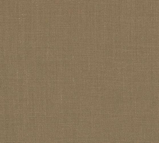 Fabric by the Yard Belgian Linen, Truffle