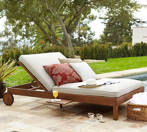 Chatham Double Chaise Pottery Barn