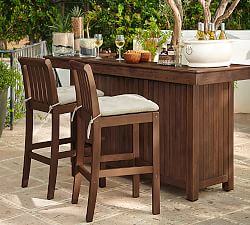 Outdoor Bars Amp Buffet Tables Pottery Barn