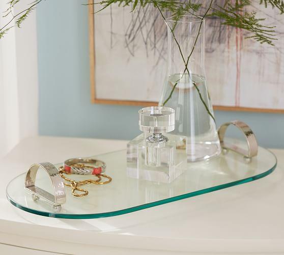 Serene Glass Tray
