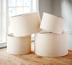 lamp shades small lamp shades pottery barn. Black Bedroom Furniture Sets. Home Design Ideas