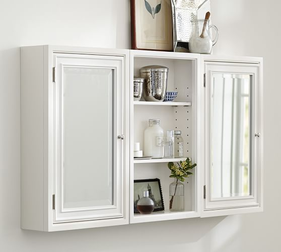 Wall Cabinet Pottery Barn: Modular Wall Storage