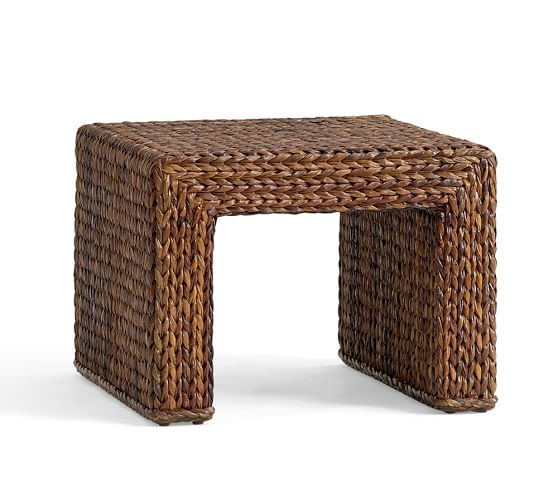 Seagrass Woven Coffee Table Pottery Barn