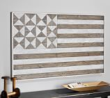 Hermosa Planked Flag