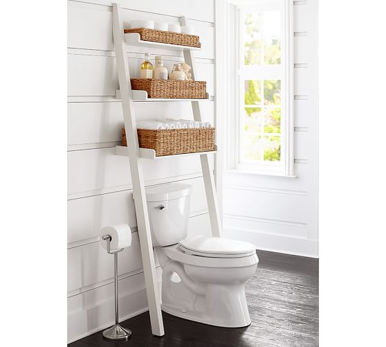 Ainsley Over the Toilet Ladder Pottery Barn