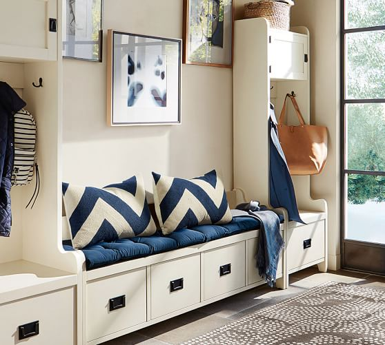 wade 3 piece bench tower entryway set pottery barn. Black Bedroom Furniture Sets. Home Design Ideas