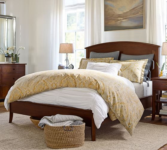 pottery barn bed frame review 2