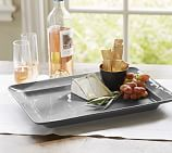 Cambria Rectangular Serving Platter, Gray