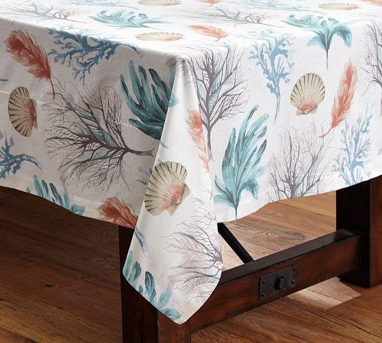 Del Mar Coastal Tablecloth