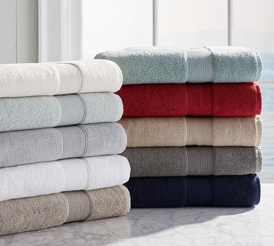 PB Classic 820-Gram Weight Hand Towel, White
