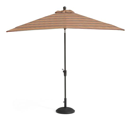 Square Market Umbrella - Stripe