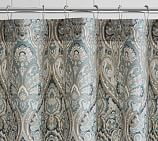 Mackenna Shower Curtain,Blue