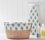 Savannah Laundry Basket Liner, Aurora Paisley