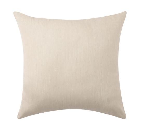 Sunbrella® Solid Indoor/Outdoor Knife-Edge Pillow, 18