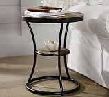 Bartlett Metal & Reclaimed Wood Side Table