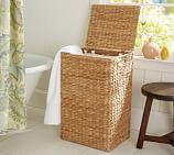 Perry Hamper with Liner, Savannah Weave