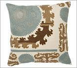 Suzani Embroidered Pillow Cover, 26
