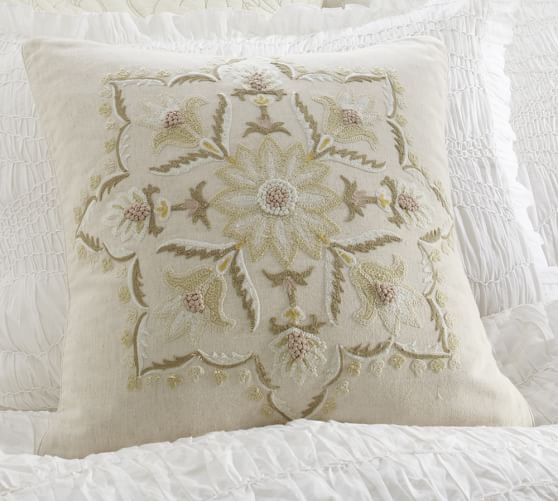 Melinda Suzani Embroidered Pillow Cover, 18