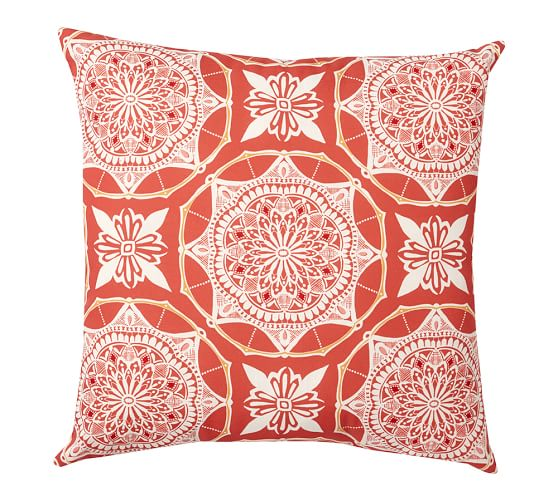Betsy Medallion Outdoor Pillow, 20