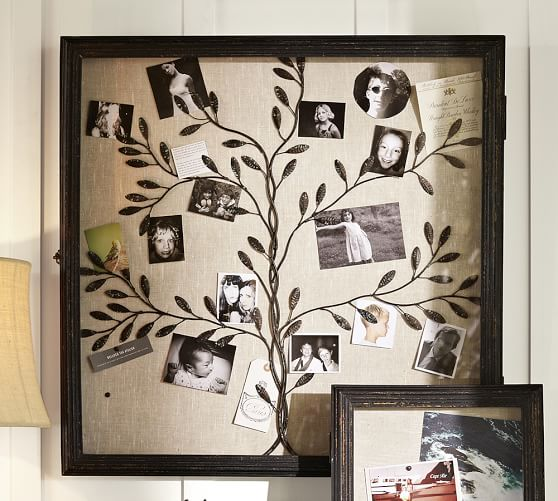Family Tree Rustic Shadow Box, 30