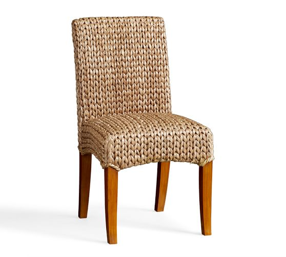 Seagrass Side Chair, Honey