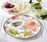 Playa Sea Life Melamine Platter
