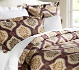 Sonora Ogee Duvet Cover, Twin, Purple