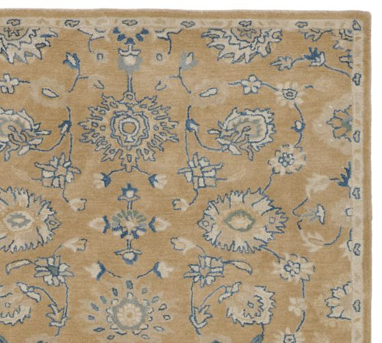 Bryne Persian-Style Rug Swatch, Neutral