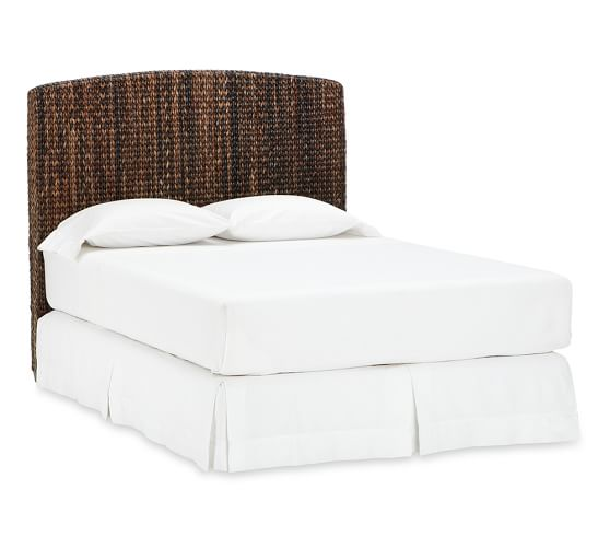Seagrass Bed Amp Headboard Pottery Barn