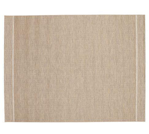 Colton Diamond Indoor/Outdoor Rug, 8x10', Warm