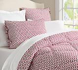 Lucca Comforter, Twin, Hibiscus