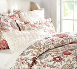 Allegra Palampore Duvet Cover, Twin, Red