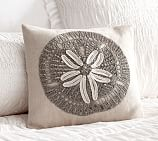 Summer Sand Dollar Pillow Cover 12