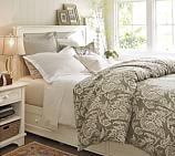 Cynthia Storage Bed & Dresser Set, Full, Antique White