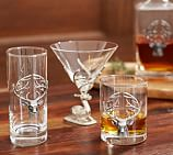 Stag Coin Double Old Fashioned, Set of 2