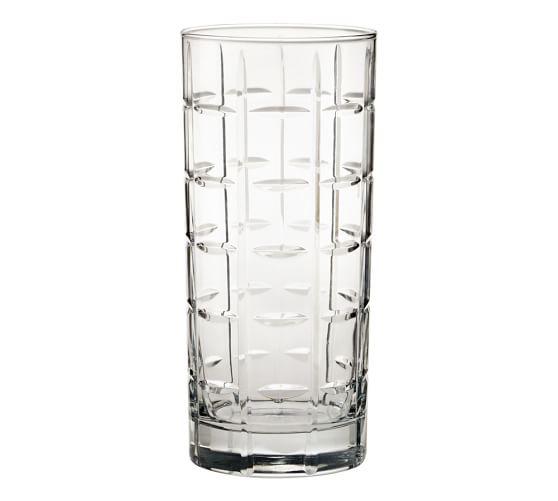 Library Hand-Cut Highball Glass, Set of 6