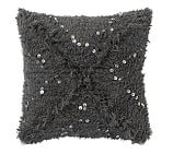 Wool Fringed Handwoven Pillow Cover, 20