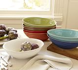 Cambria Oval Coupe Serving Bowl, Gray