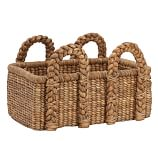 Beachcomber Seagrass Basket, Rectangular, Low