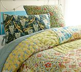 Scalloped Organic Cotton Patchwork Quilt, Twin