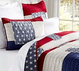 Stars & Stripes Quilt, Twin