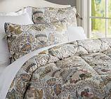 Victoria Comforter, Twin, Multi