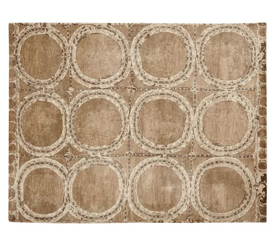 Hearst Tufted Wool Rug, 2.5x9', Neutral