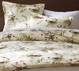 Winter Bird Duvet, Twin, Multi