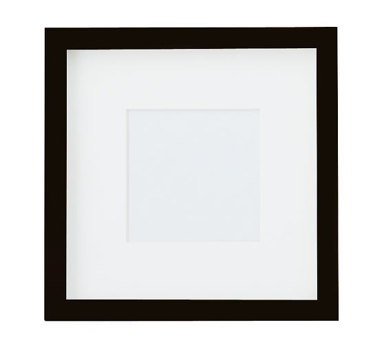 """Wood Gallery Oversized Picture Frame, 5 x 5"""", Black"""