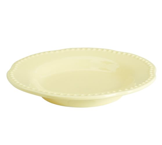 Emma Salad Plate, Set of 4, Yellow